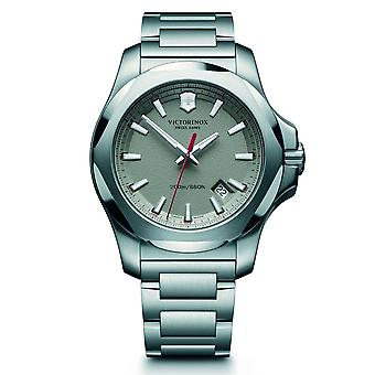 Victorinox Swiss Army 241739 I.n.o.x. Grey & Silver Stainless Steel Men's Watch