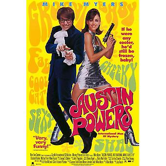 Austin Powers International Man of Mystery Movie Poster (11 x 17)