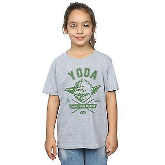 Star Wars Girls Yoda Collegiate T-Shirt