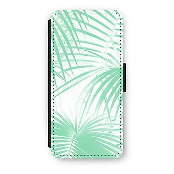 iPhone 5/5S/SE caso Flip - folhas de palmeira