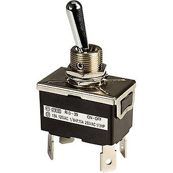 Toggle switch 250 Vac 10 A 2 x Off/On SCI R13-29F