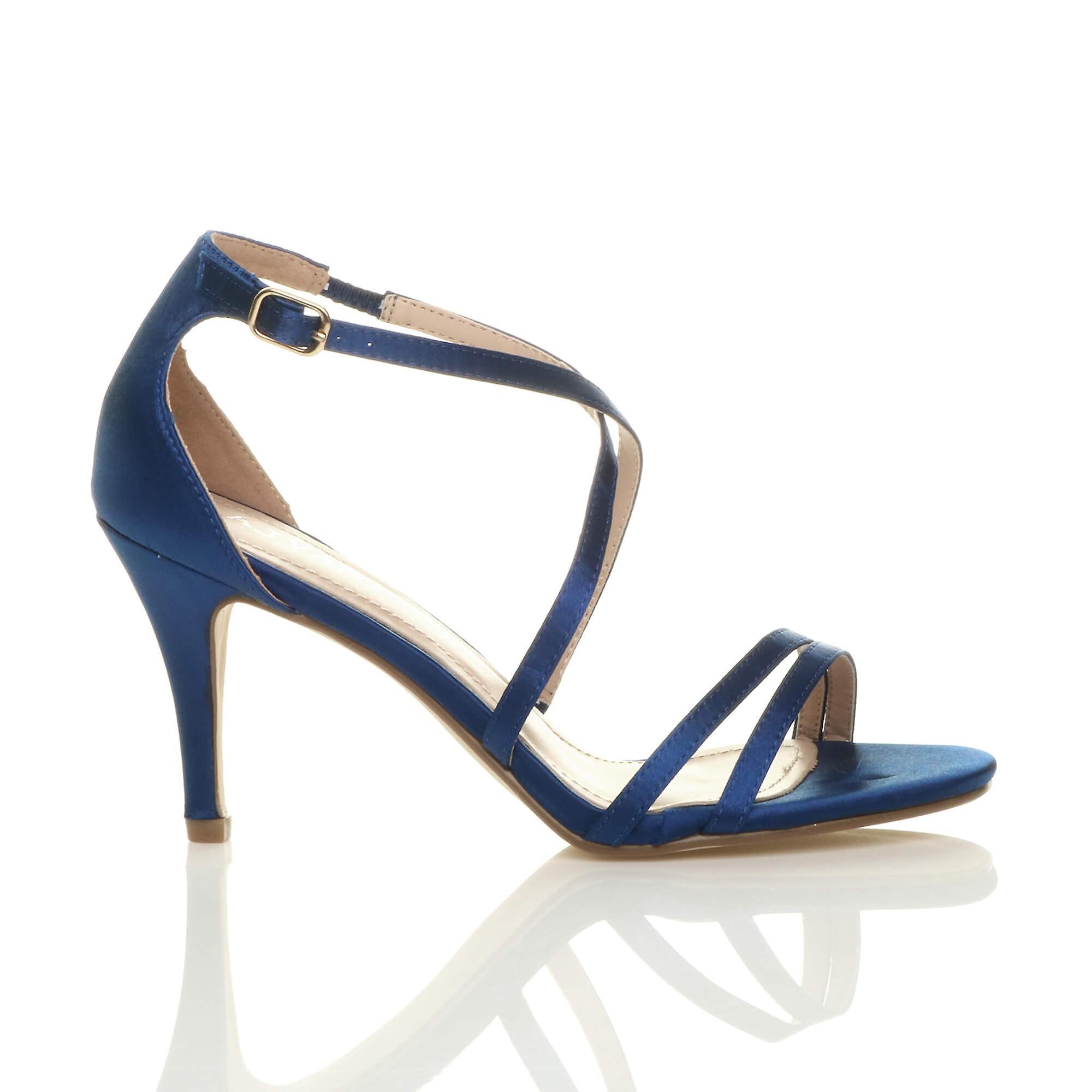 messieurs et mesdames < ajvani mi - bas à de femmes à bas haut talon crossover partie mariage bal des sandales chaussures < tendance 258fab