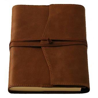 Coles Pen Company Amalfi Medium Lined Refillable Journal - Chocolate Brown