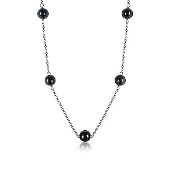 Antica Murrina ladies COA29A14 black steel Hall chain