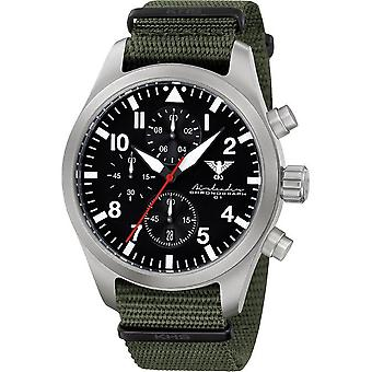KHS mens watch Airleader Steel Chronograph KHS. AIRSC.NO