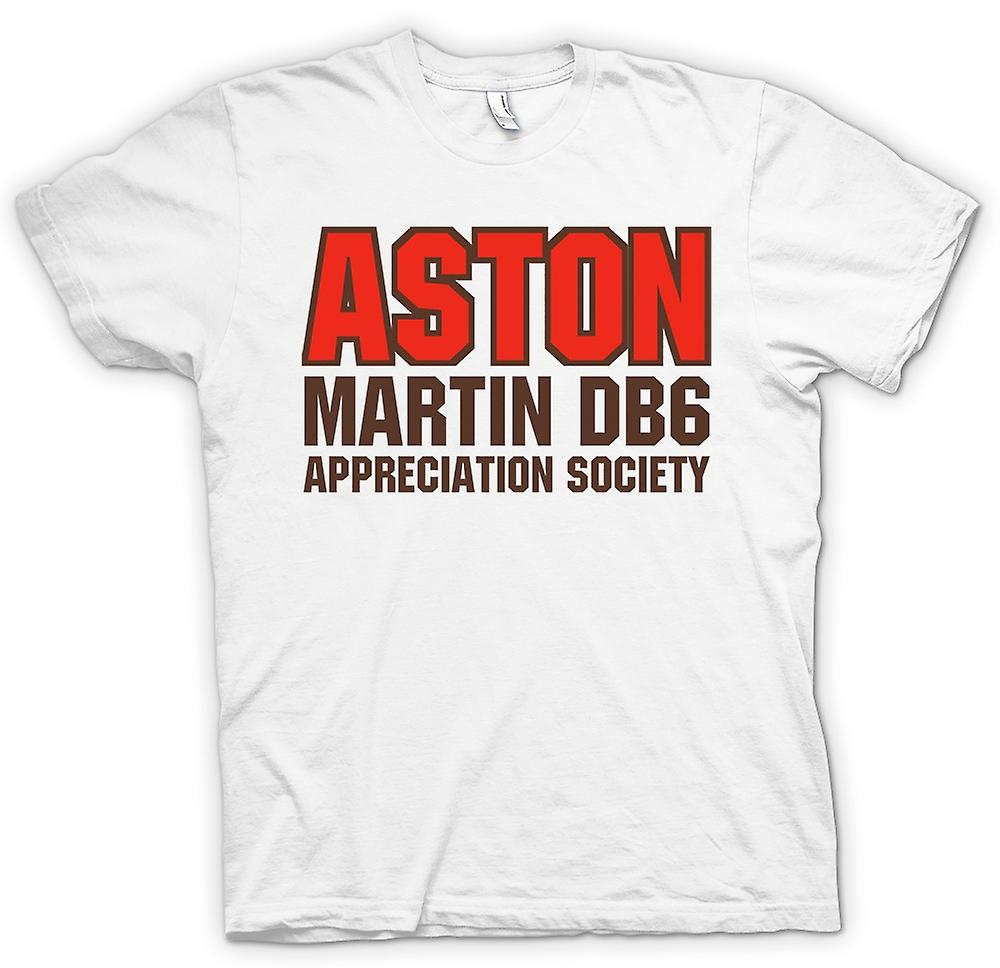 Mens T-shirt-Aston Martin DB6 Appreciation Society