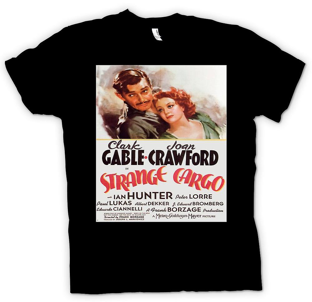 Womens T-shirt - Strange Cargo - Classic Movie Poster
