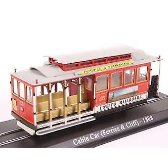 San Francisco Cable Car (Ferries and Cliff 1888) Diecast Model Tram