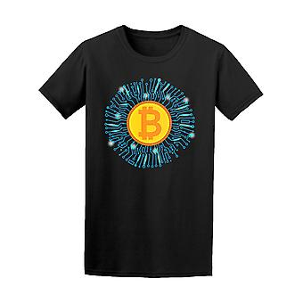 Cyrpto Currency Bitcoin Tee Men's -Image by Shutterstock