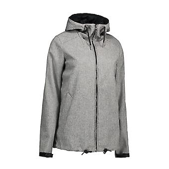 ID Mens Casual Soft Shell Hooded Jacket