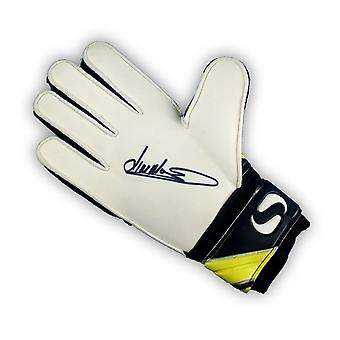 Jim Montgomery Signed Goalkeeper's Glove