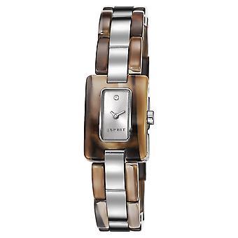 ESPRIT dameshorloge horloge Desert schildpad roestvrijstaal ES106492002