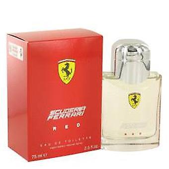 Ferrari Scuderia Ferrari rød Eau de Toilette 75ml EDT Spray