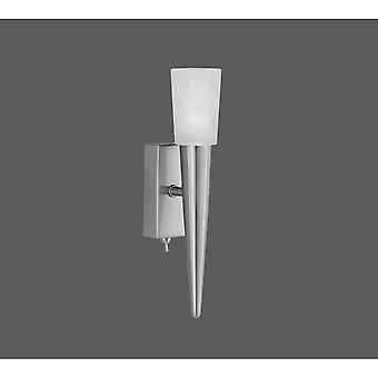 Trio Lighting Facella Modern Nickel Matt Metal Wall Lamp