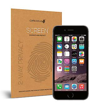 Celicious Privacy 2-Way Anti-Spy Filter Screen Protector Film Compatible with Apple iPhone 6 Plus