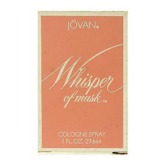 Jovan Whisper Of Musk Cologne Spray 1.0Oz/29.6ml In Box