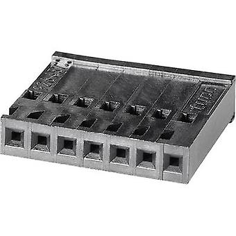 TE Connectivity 926657-6 Socket enclosure - cable AMPMODU Total number of pins 6 Contact spacing: 2.54 mm 1 pc(s)