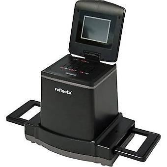 Reflecta X120 Scannen Negative Scanner 14 MPix-ohne PC digitalisieren, Display, Mittelformat (Film), Memory card Slot