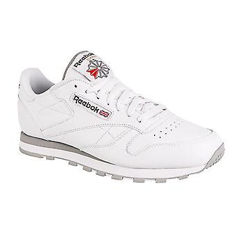 Reebok classic leather mens leather sneaker white