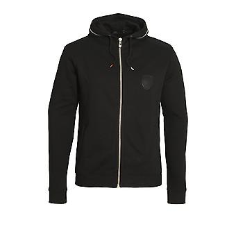 883 POLICE Rani Zip Through Hoodie Black