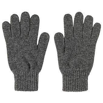 Johnstons of Elgin Jersey Gloves - Mid Grey