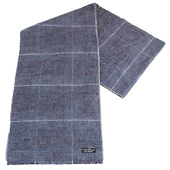 Fraas Reversible Checked Scarf - Taupe