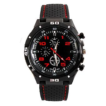 Men Analogue Sports GT Watch Black Red