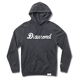 Diamond Supply Co Stadt Skript Pullover Hoodie Navy