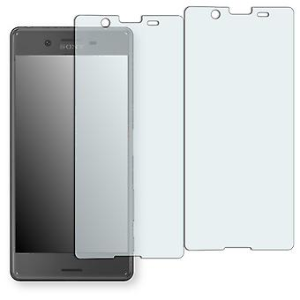 Sony Xperia X performance display protector - Golebo crystal-clear protector (deliberately smaller than the display, as this is arched)