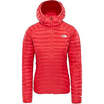 North Face Women's Impendor Down Hoodie - Teaberry Pink