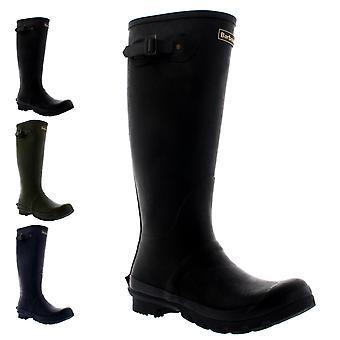 Mens Barbour Bede Winter Waterproof Wellington Snow Rain Mid Calf Boots