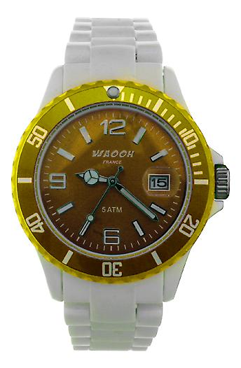 Waooh - Dial & Bezel Watch MILANO38 Transparent Color