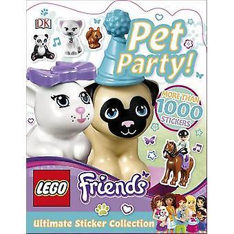 LEGO Friends Pet Party! Ultimative Stickerkollektion von DK - Helen Mur