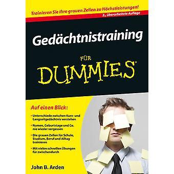 Gedachtnistraining bont Dummies (2e herziene editie) door John B. Arden
