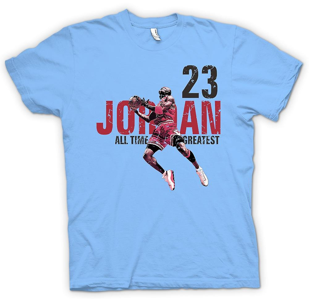 Mens T-shirt - Jordon - 23 - All Time Greatest