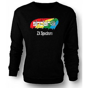 Sweatshirt Sinclair 48k ZX Spectrum 0s - dataspill
