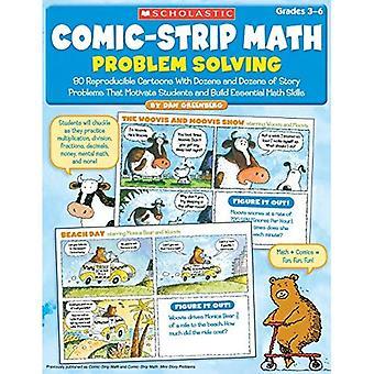 Tecknad matematik: Problemlösning: 80 reproducerbara Cartoons med dussintals historien problem att motivera studenter och bygga grundläggande matematik S