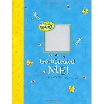 God Created Me!: A Memory Book of Baby's First Year (Little Blessings)