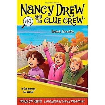 Problème de billet (Nancy Drew & l'équipage Clue (qualité) (rééditions))