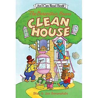 Los osos de Berenstain limpiar la casa (osos de Berenstain