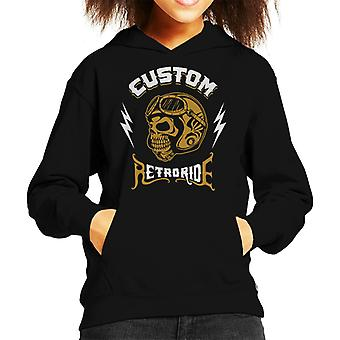 Custom Ride Hooded Sweatshirt moto capretto