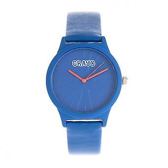 Crayo Splat Unisex Watch - Blue