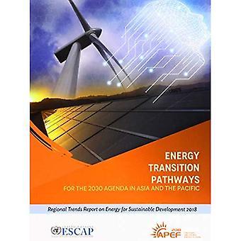 Energi övergången vägar för agenda 2030 i Asien och Stillahavsområdet: regionala trender rapport om energi för hållbar utveckling 2018