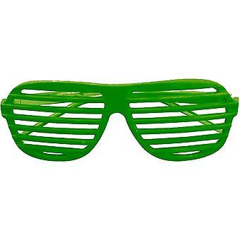 Glasses Slot Neon Green