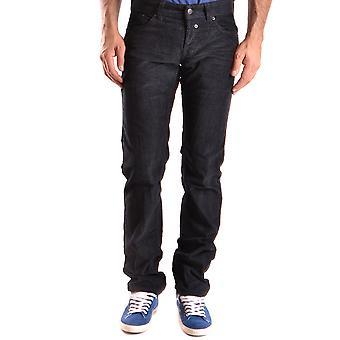 John Richmond Black Velvet Jeans
