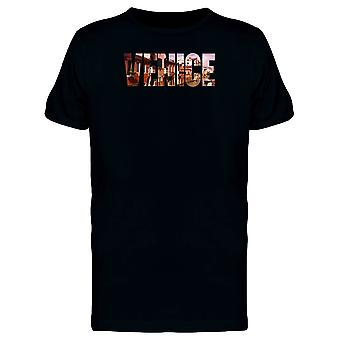 Venice City Name With Photo Tee Men's -Image by Shutterstock