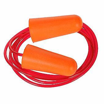 sUw - przewodowe wtyk ucha pianki PU (200 par) Orange regularne