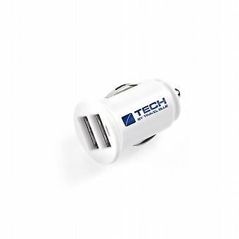 Car charger with 2 USB. (Car-charger - 2 USB). GRT-963. Travel Blue