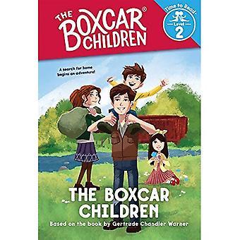 Boxcar barnen (Boxcar barnen: tid att läsa, nivå 2)
