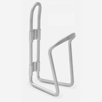 New Delta Alloy Bottle Cage Cycling Accessory Silver